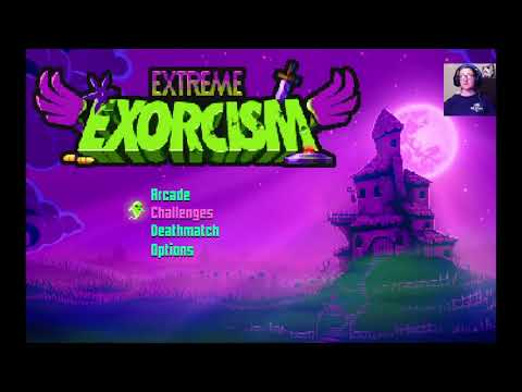 Bee plays some spoop?||Extreme Exorcism |