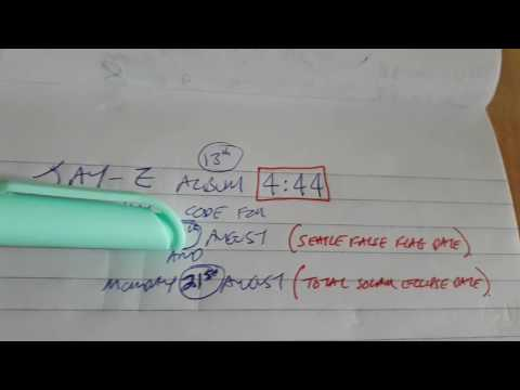 False Flag date in Jay-Z 4:44