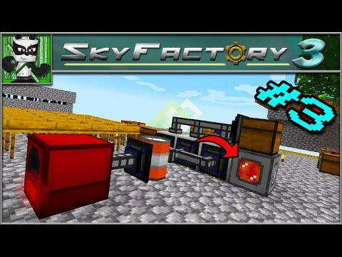 Automatic POWER generation! - Sky Factory 3 Patreon Server - Episode 3