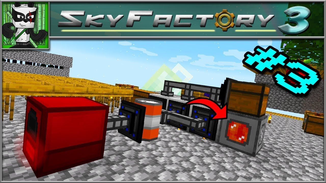 Sky Factory 3 Fe Power Generation