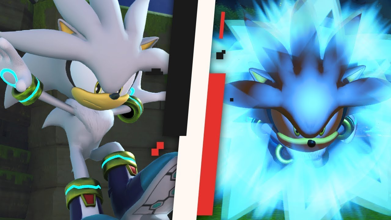 Sonic Forces : Silver The Hedgehog