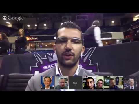 Kings Global Hangout with Peja Stojakovic