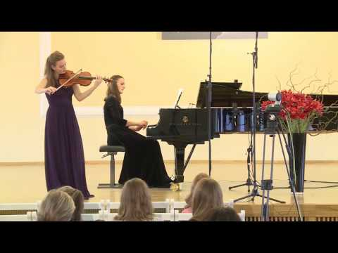 """Olga Yakushina S. Rachmaninoff - J. Heifetz """"Daisies"""" from 6 Romances Op. 38 No 3"""