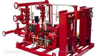 NMFIRE - NFPA20 Containerised Fire Fighting Pump System