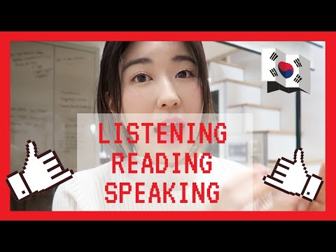 How To Improve Korean Listening, Speaking And Reading Effectively