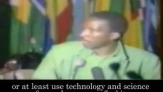 Thomas Sankara Discours Sur La Dette [Sommet OUA, Addis Abeba] Partie 2/2 (AMTv - AFRIQUE)