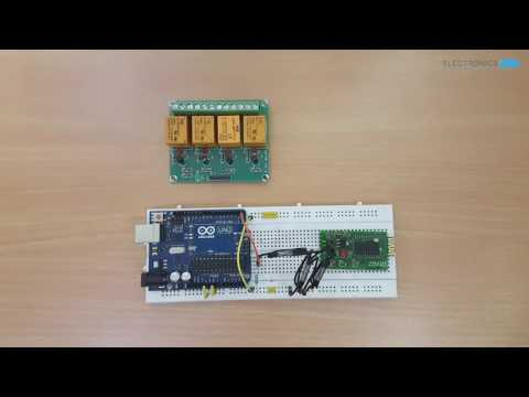 Arduino Based Home Automation Project via Bluetooth