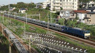 【配給輸送】 EF64-1031+横須賀線E235系11両 保土ヶ谷~東戸塚通過