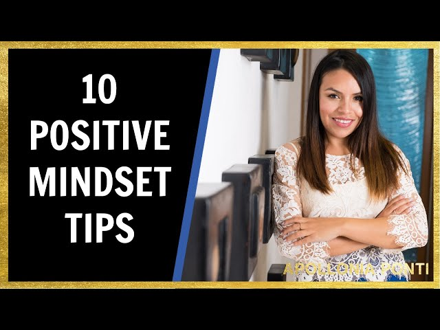 10 Positive Mindset Tips | 5 Sec Rule By Mel Robbins