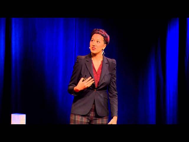 How art and music create a new hybrid global culture: Rajae El Mouhandiz at TEDxBreda