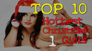 ☆  TOP 10 HOTTEST CHRISTMAS GIRLS ☆  FULL HD 2014
