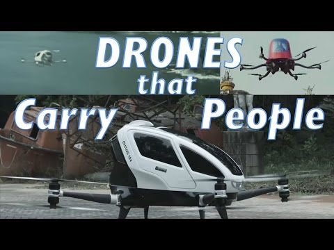 Top 5 Drones Carrying People