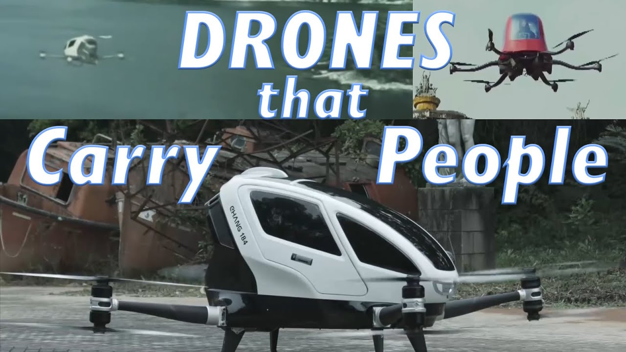 Top 5 Drones Carrying People