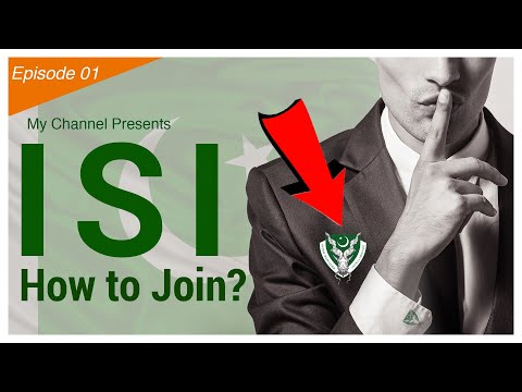 How To Join ISI Agency In Pakistan? [Episode01]