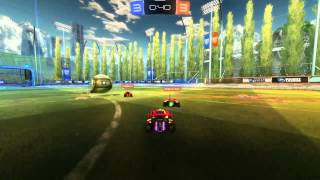 Rocket League Epic Save and then Goal