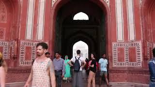 Taj Mahal - Front Gate Optical Illusion