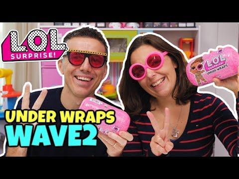 LOL SURPRISE Under Wraps WAVE 2: Apertura di Coppia GBR