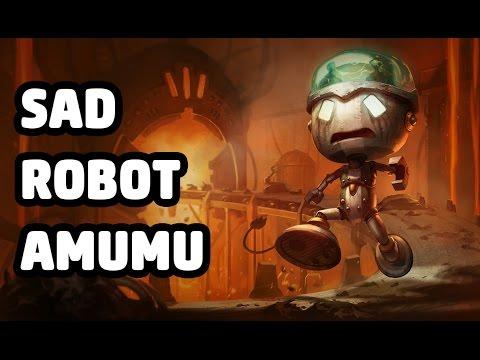 Sad Robot Amumu Skin Spotlight