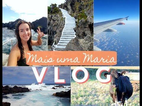 TRAVEL WITH ME VLOG | TERCEIRA | Mais uma Maria