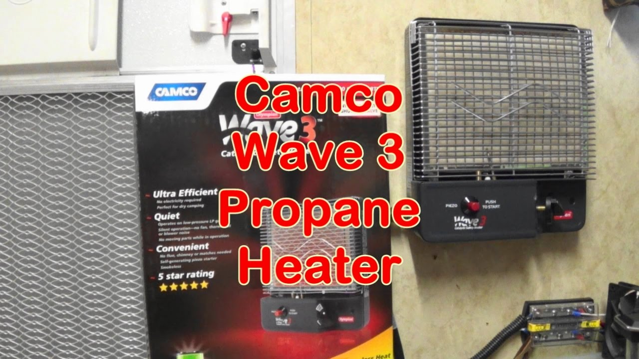 Camco Wave 3 Propane Heater Review Youtube