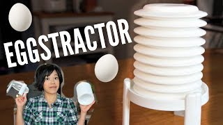 EGGSTRACTOR egg peeling gadget | Does it Work?