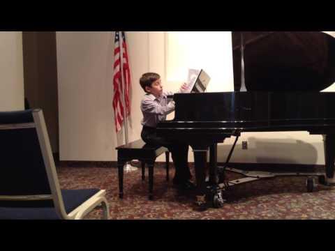 Zak's last public recital