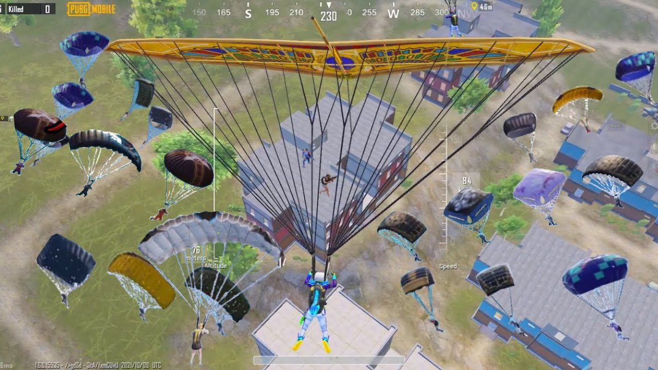 Download ALL PRO PLAYERS LANDED in HERE AGAİN🥵Pubg Mobile