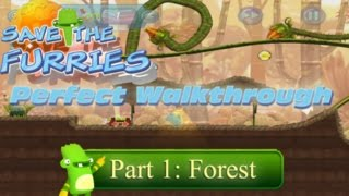 Save the Furries PC/Steam Walkthrough World 1 Forest (Levels 1-10)