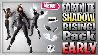 How To Get SHADOW RISING PACK In Fortnite RIGHT NOW!!