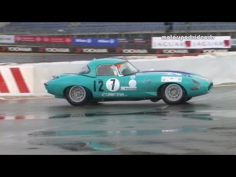 OGP Historic Marathon mit den Siegern Jaguar E-Type