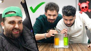 لا تختار المشروب الغلط 🤣🤦♂️