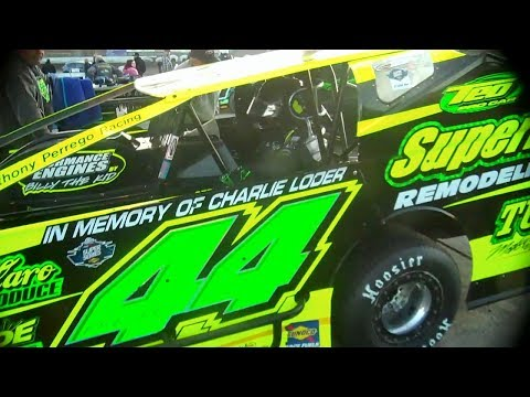 Modifieds at Middletown 2018 - Perrego Takes 4th