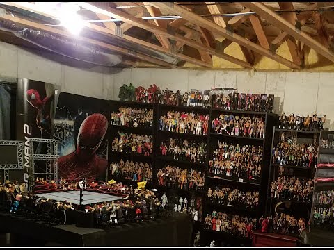 ONE OF THE LARGEST WWE FIGURE COLLECTION! 3,000+ FIGURES!