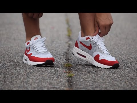 Nike Air Max 1 Ultra Flyknit On Foot