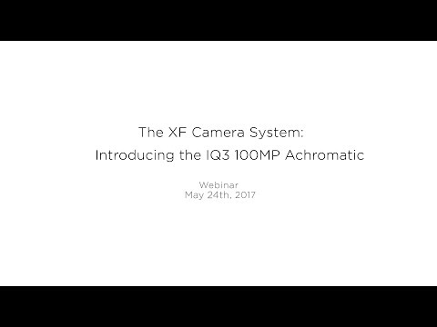 Webinar: Introducing the IQ3 100MP Achromatic | Phase One