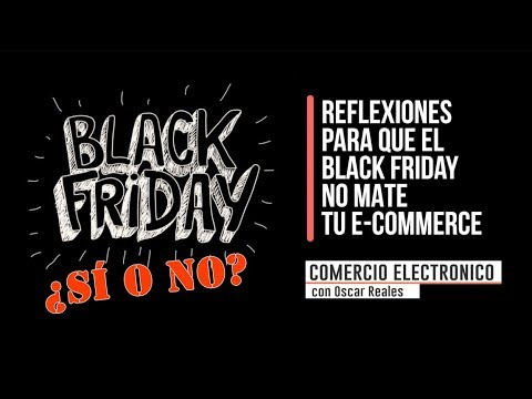 Black Friday en tu e-Commerce sin matar tu negocio