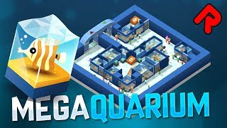 BUILD YOUR OWN AQUARIUM! | MEGAQUARIUM gameplay (PC tycoon game) #1