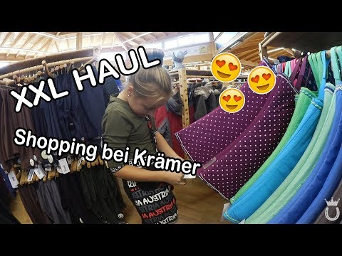 Krämer Shopping + XXL HAUL | Blindly Follow Horses ♥ | Marina und die Ponys