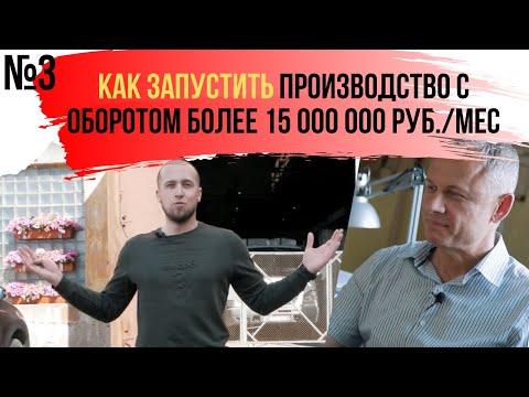 БИЗНЕС ИДЕИ, предприниматель Николай Дубинин и его производство