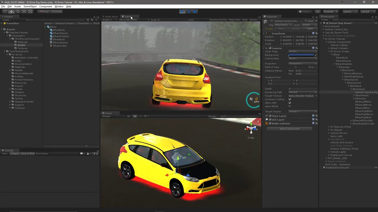 Unity Ik Driver - Change Avatar Model  Turnthegameon 08:06 HD