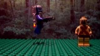 Lego Jango Fett Jetpack Levitating Test