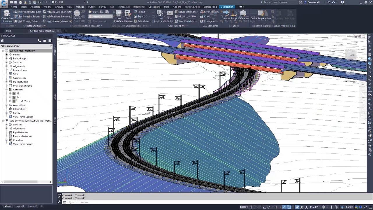 Civil 3D 2020 Novedades de Dynamo para Civil 3D - YouTube
