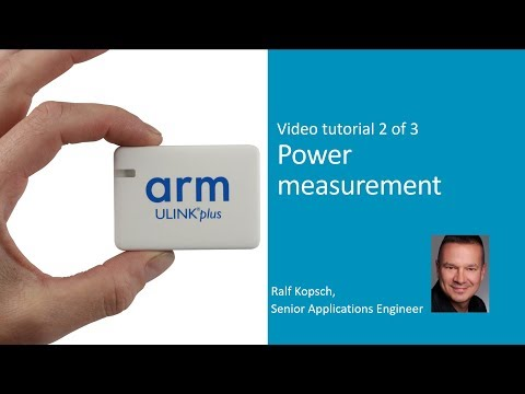 This quick start tutorial shows how to use the power measurement feature of ULINKplus.   It explains the hardware connection to a target, shows the required configuration and demonstrates power measurement using the µVision System Analyzer.  This is the 2nd out of 3 introduction videos covering the key ULINKplus features: 1) Debug and Trace 2) Power Measurement 3) Test Automation / IO pins control  For more information, visit www.keil.com/ulinkplus