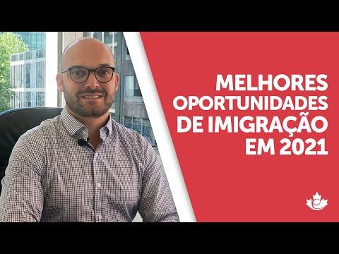 Melhores oportunidades de imigração em 2021