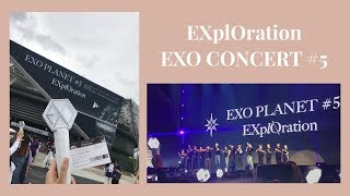 VI VU CONCERT EXO TẠI HÀN - EXO CONCERT#5 EXplOration IN SEOUL 2019