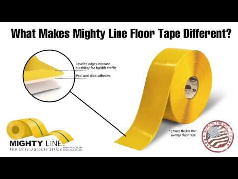 Mighty Line Floor Tape 1,307 Views · 1:10