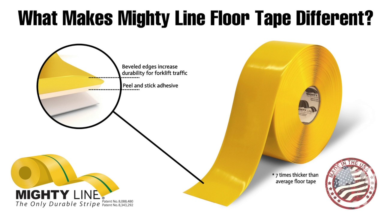Mighty Line Safety Floor Tape Installation Instructions