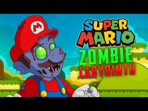 Super Mario Zombie Labyrinth (Custom Zombies)