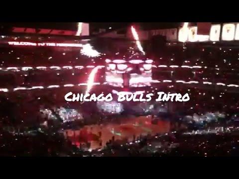 Chicago Bulls 2012 NBA Playoffs Introduction United Center Derrick Rose Jimmy Butler Taj Gibson