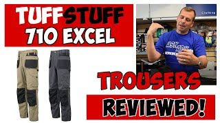 Tuffstuff 710 Work Trousers Reviewed great work pants for Electricians and Plumbers